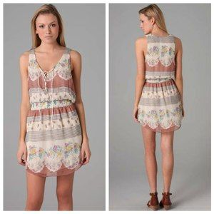 Free People Falling for Georgette Crepe Dress